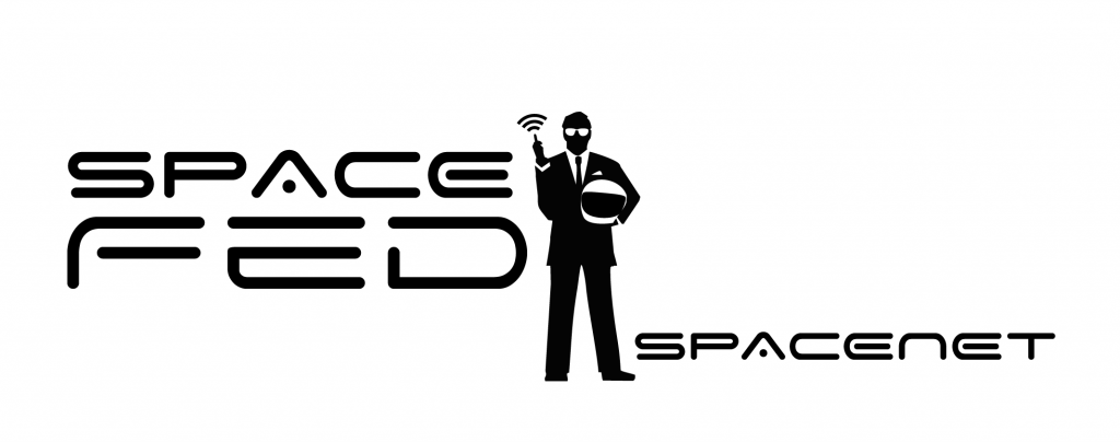 Spacefed - spacenet logo.